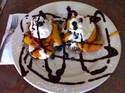 Croissant_French_Toast_with_Long_Island_Peaches_Blueberries_Fresh_Whipped_Cream