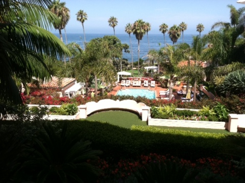 La Valencia Resort in La Jolla