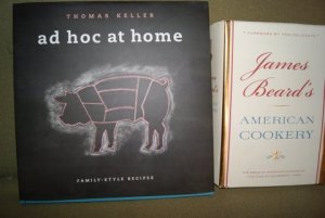 Thomas Keller Ad Hoc at Home and James Beard American Cookery